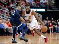 Harden doorbreekt magische grens van 20.000 punten in NBA