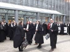 Staking advocaten in Den Bosch: 'Misschien moet er een schepje bovenop'