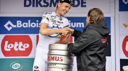 Tony Martin maakt zijn favorietenrol helemaal waar in Ronde van België
