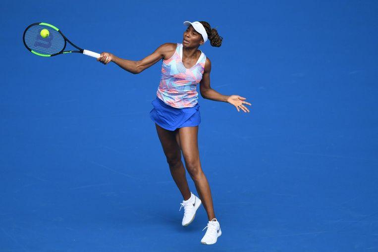 Venus Williams sloeg slechts 22 winners en 36 onnodige fouten. Beeld epa