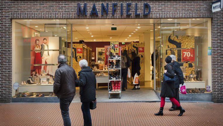 Macintosh is onder andere eigenaar van schoenenwinkel Manfield. Beeld anp