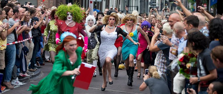 Drag Queen Olympics 2012 Beeld anp