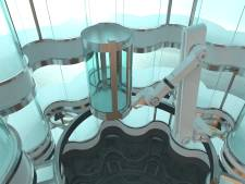 Zwevende robotlift voor de rijken der aarde komt uit Nederland