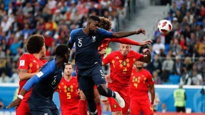 """Macron komt terug op pijnlijk WK-moment voor Rode Duivels: """"Denk dat Lukaku hem nog goed herinnert"""""""