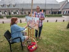 Historische brink Zandoerle verandert één dag in kunstenaarsenclave
