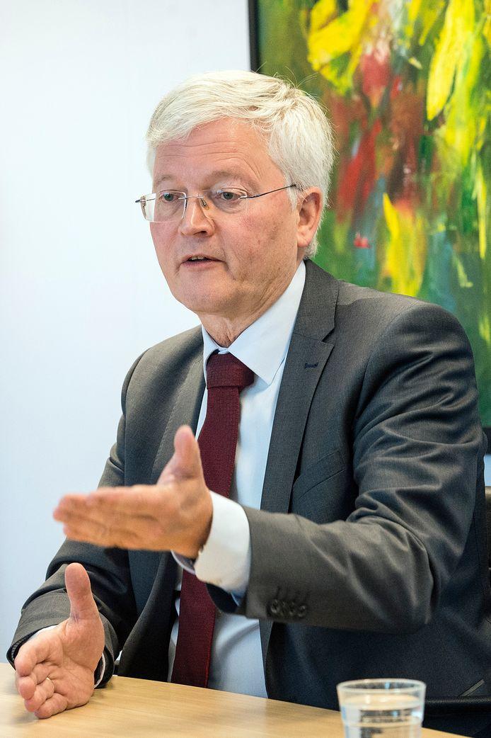 Burgmeester Theo Weterings.