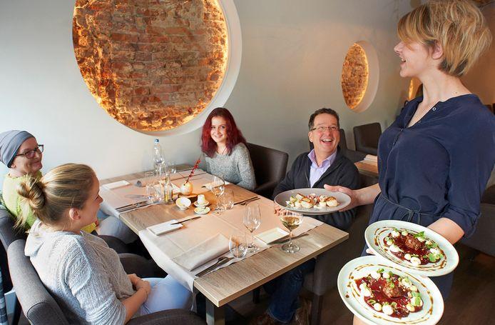 Een lunch bij Versaen in Ravenstein, vóór de coronacrisis.
