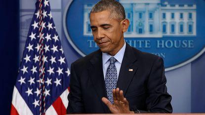 """Obama laat in ziel kijken over zijn dochters en zichzelf op einde laatste persconferentie: """"Het komt écht goed"""""""