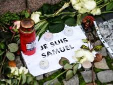 'Mijn collega is op gruwelijke wijze vermoord, dus ik laat leerlingen die spotprenten zien'