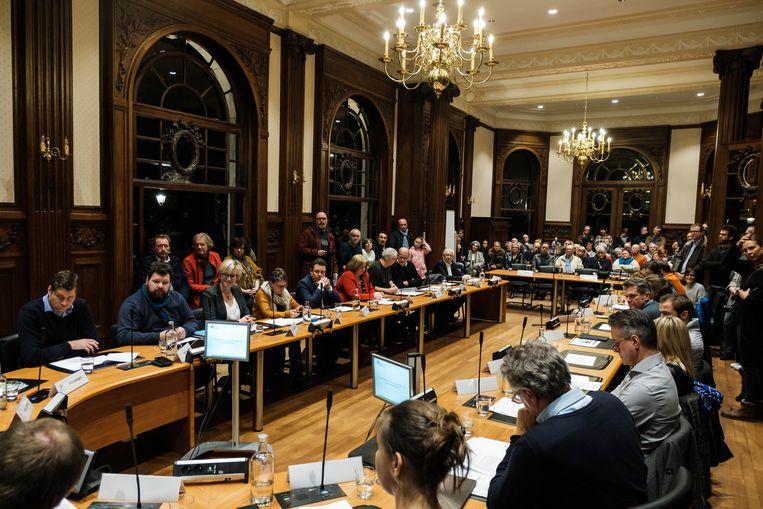 De gemeenteraad in Boechout
