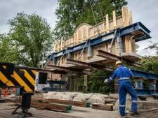Dankmonument uit het Weesperplantsoen weggetakeld, bouw Namenmonument kan beginnen