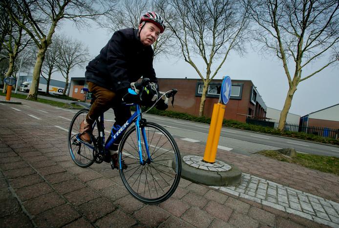 Verslaggever Peter Koster testte in februari van 2018 de F15. De fietssnelfietspad wordt mogelijk doorgetrokken naar Gorinchem. Foto ter illustratie.
