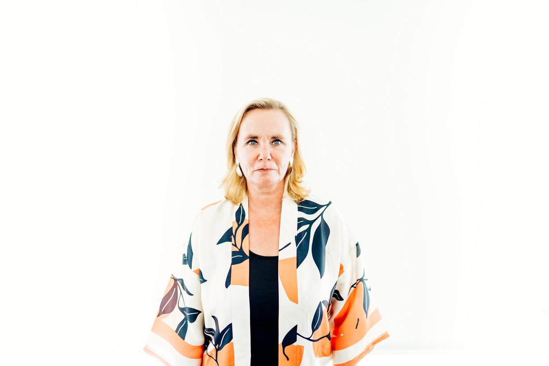Liesbeth Homans: 'Ik heb met die uitspraak over de 'Belgische vod' niemand willen choqueren. Ik zal het niet meer herhalen. Dat is bij deze beloofd.'
