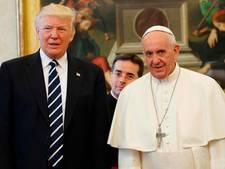 Trump bezoekt het Vaticaan