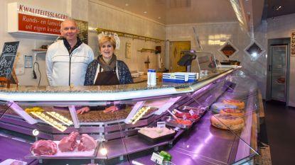 Erik en Martine sloten vandaag deuren van hun slagerij Erik