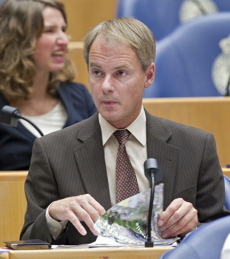 SP-kamerlid Harry van Bommel Beeld null