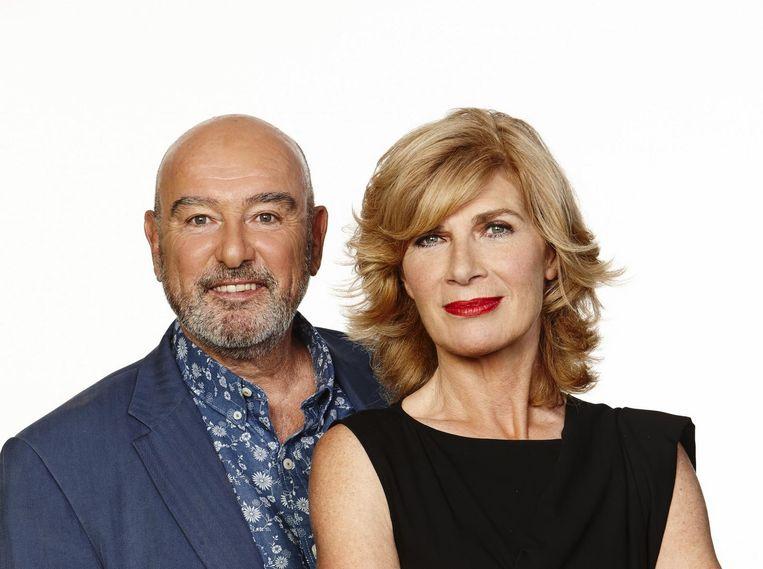 Peter de Bie en Mieke van der Weij. Beeld