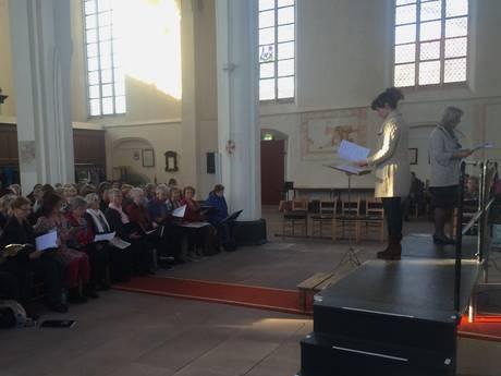 Bach klinkt in Lochem uit 120 kelen