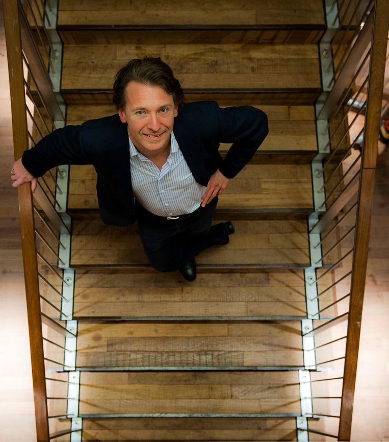 Chef-dirigent Marc Albrecht van het Nederlands Philharmonisch Orkest en het Nederlands Kamerorkest. Beeld ANP