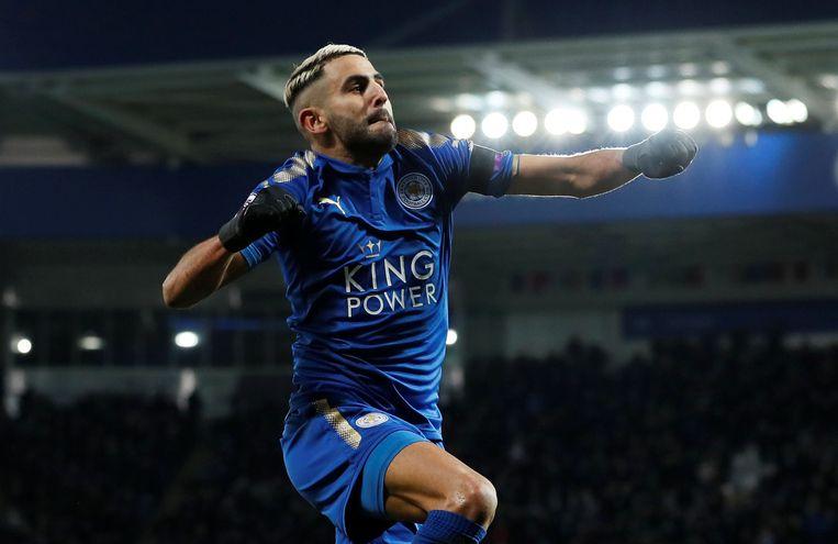Mahrez, één van de belangrijkste schakels bij Leicester in het kampioenenjaar van 2016-2017.