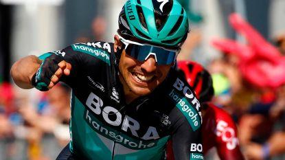 Benedetti schiet weer raak voor BORA in Giro, Polanc nieuwe roze trui