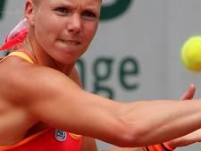 Bertens verslaat Tomljanovic in drie sets in eerste ronde