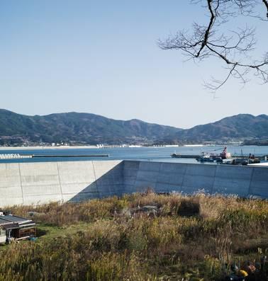 Japan verbergt oceaan achter tsunamimuur