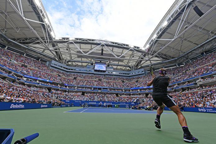 La finale de l'US Open 2019 entre Rafael Nadal  et Daniil Medvedev.