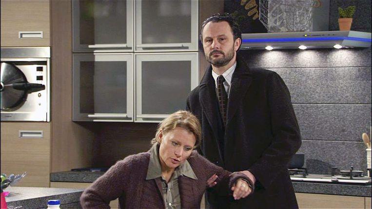 Christel als Martine in 'Thuis'.