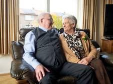 Henk en Geertje uit Holten al 60 jaar samen: 'We zien graag de zonnige kant van het leven'