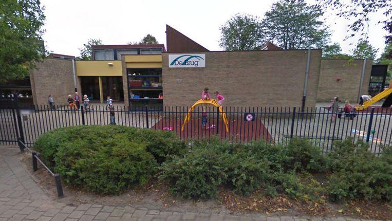 Basisschool De Brug. Beeld Streetview