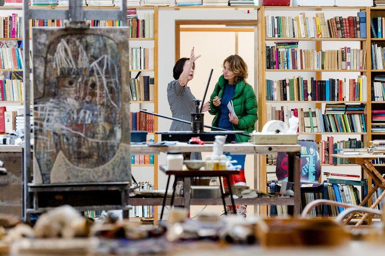 In Bergen is momenteel de overzichtstentoonstelling van schilder en dichter Lucebert te zien. Beeld anp