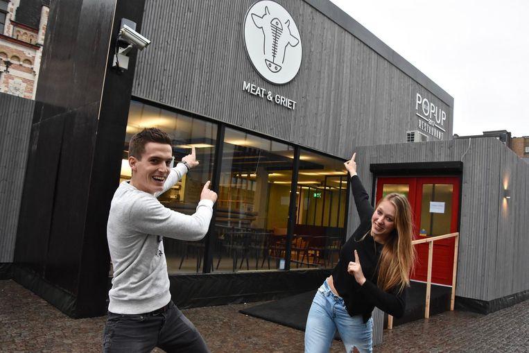 Yannick uit Brasschaat en Leena uit Kalmthout.