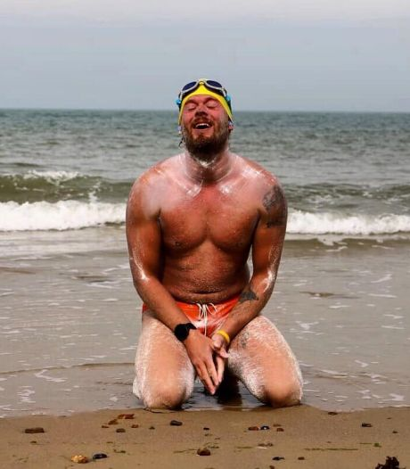 Le Belge Matthieu Bonne va nager en solo tout le littoral belge sans s'arrêter