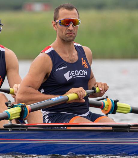 Roeier Ruben Knab streeft met Holland Acht naar perfectie op de Spelen
