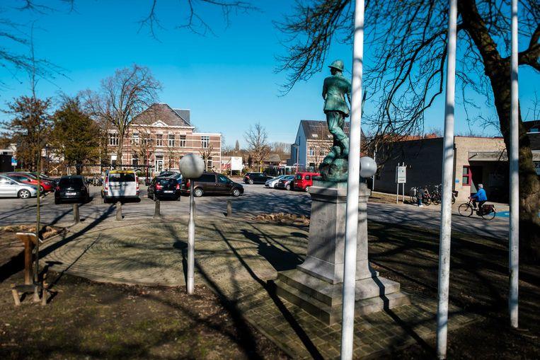 Maandag starten de werken voor een groener Oudstrijdersplein.