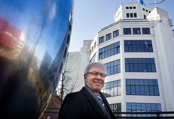 Rudy Reker van de LPF Eindhoven bij de Lichttoren (archieffoto).