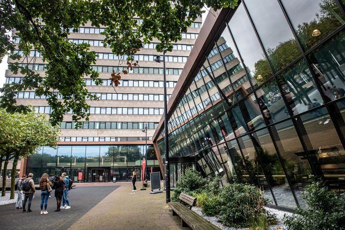 Het universiteitsgebouw van Radboud in Nijmegen.