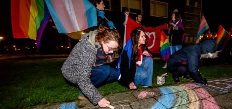Krijten op de stoep van de SGP als protest tegen Nashville-verklaring