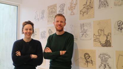 """Nieuwe galerij aan de Dampoort zet Gentse artiesten in de kijker: """"Ik zou op geen andere plek willen zitten"""""""