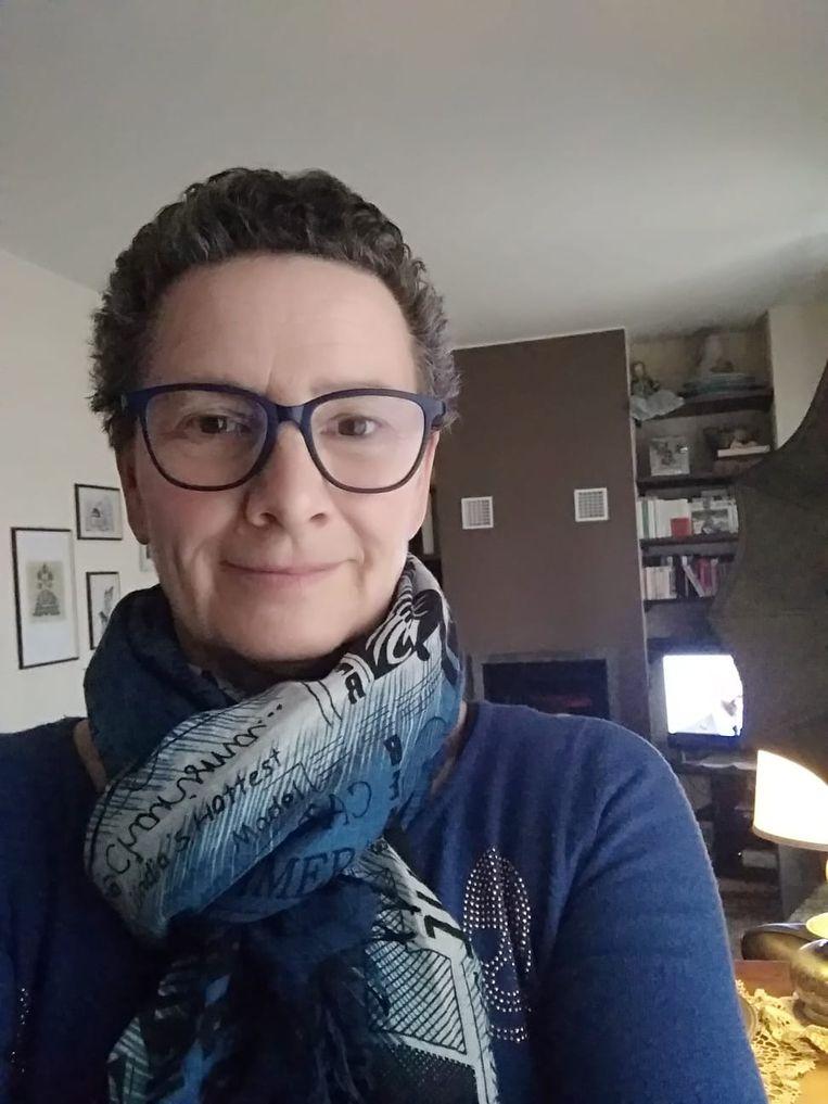 Karin Verbruggen zit al drie weken in lockdown in de buurt van Varese, in de kritieke zone in Noord-Italië.