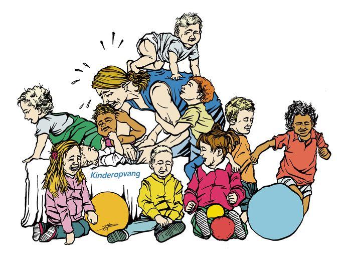 Een van de terugkerende problemen op vestigingen van Kidsplus is dat er soms te weinig pedagogisch medewerkers op de groepen werkzaam zijn.