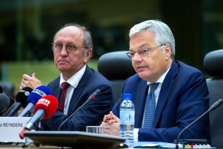 Informateurs Johan Vande Lanotte en Didier Reynders.