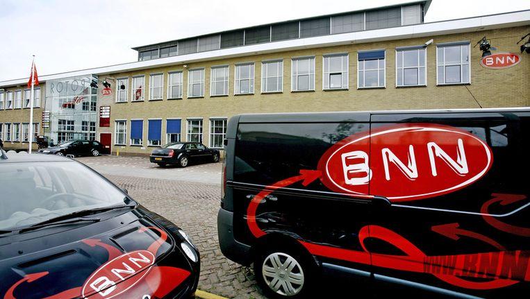 Het huidige BNN-gebouw aan de Sumatralaan in Hilversum. Beeld ANP