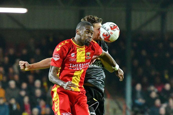 Maecky Ngombo ontbreekt vrijdagavond bij Go Ahead Eagles
