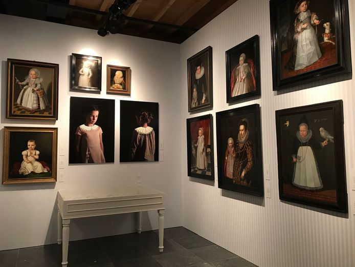 De tentoonstelling in het Waterkasteel in Moorsel.