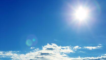 Droog weekend met veel zon maar ook wolken