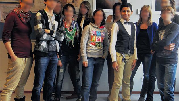Anass was een opvallende verschijning op school.