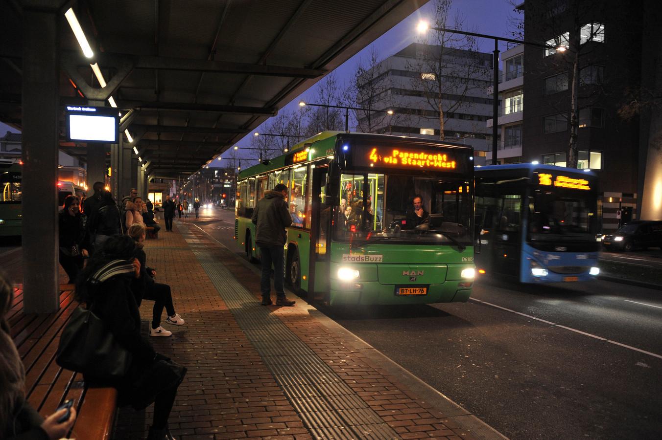 Stads- en streekbus van Qbuzz in Dordrecht