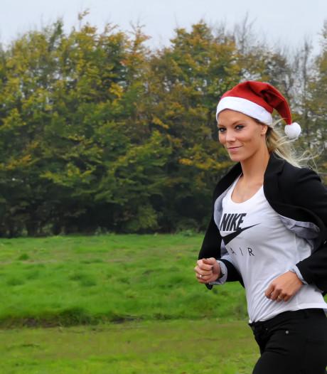 Nadine Broersen komt opnieuw met Santa Run in Dongen